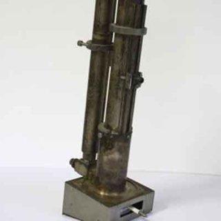 Gli articoli della ditta comprendono pezzi metallici di precisione.