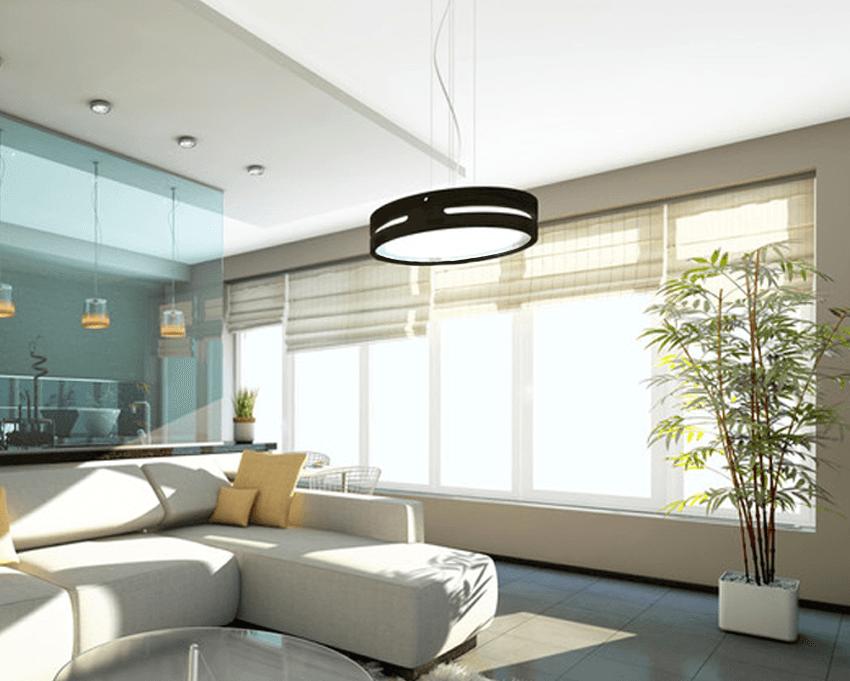 living room blinds