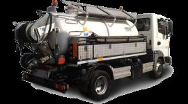 trasporto liquami, smaltimento liquami, camion per spurgo fognature