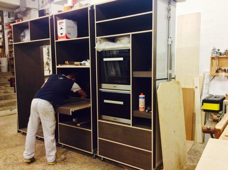 mobili per cucina su misura