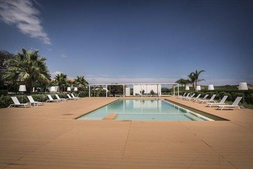piscina del ristorante