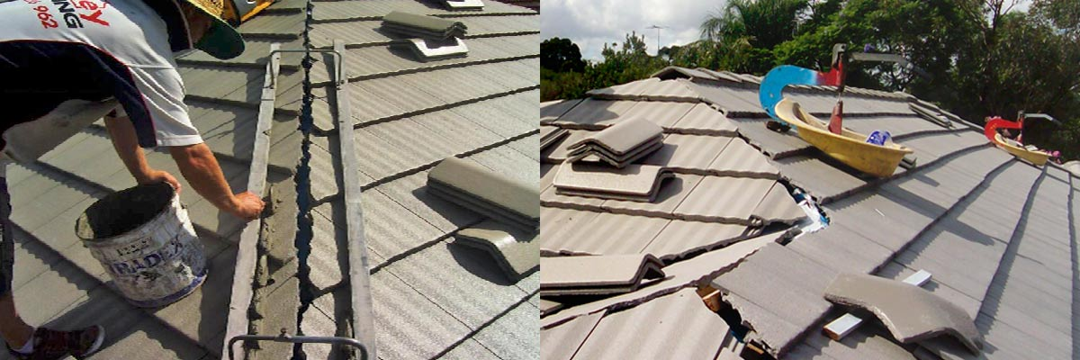 Apex sydney roofing services roof fixing and bedding