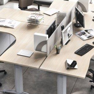 scrivanie angolari per ufficio