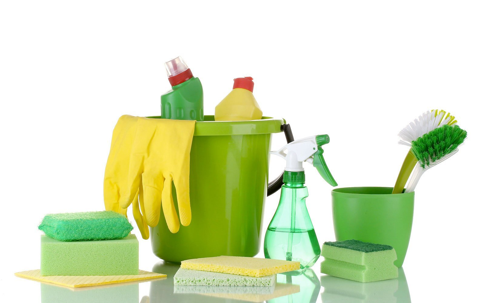 Sparkle Kleen uses green and clean products