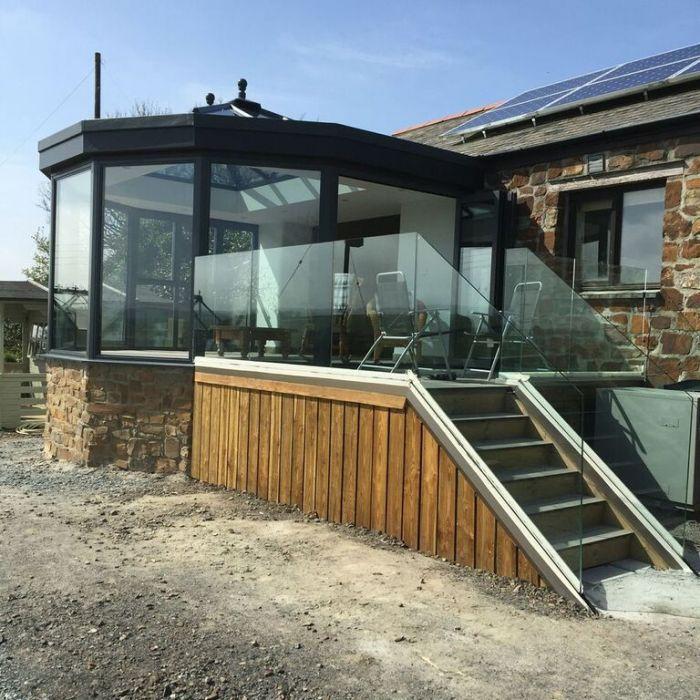 Conservatory glazing projects