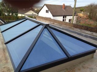 'Lifestyle Lantern' Slimline Contemporary Rooflights