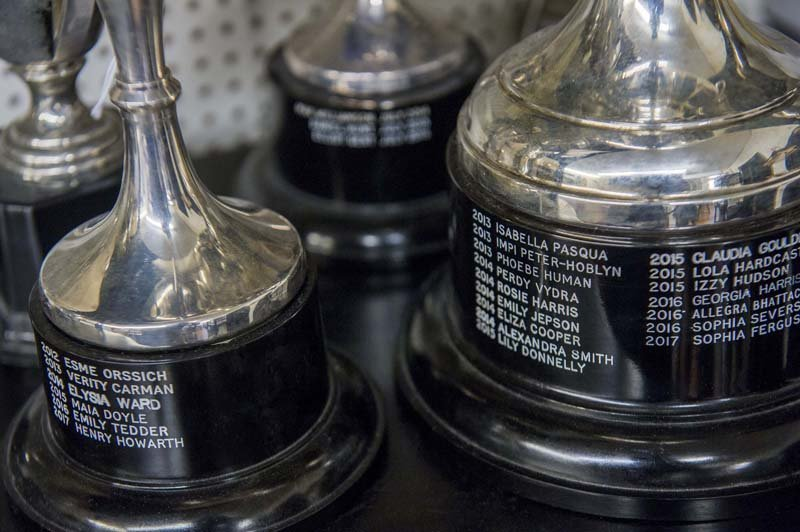 trophy engraving work