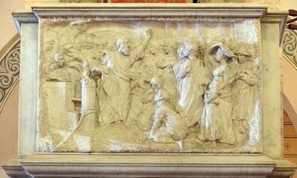 altorilievi su marmo