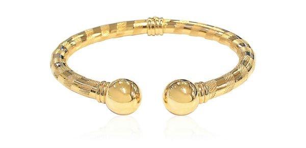 bracciale rigido in oro