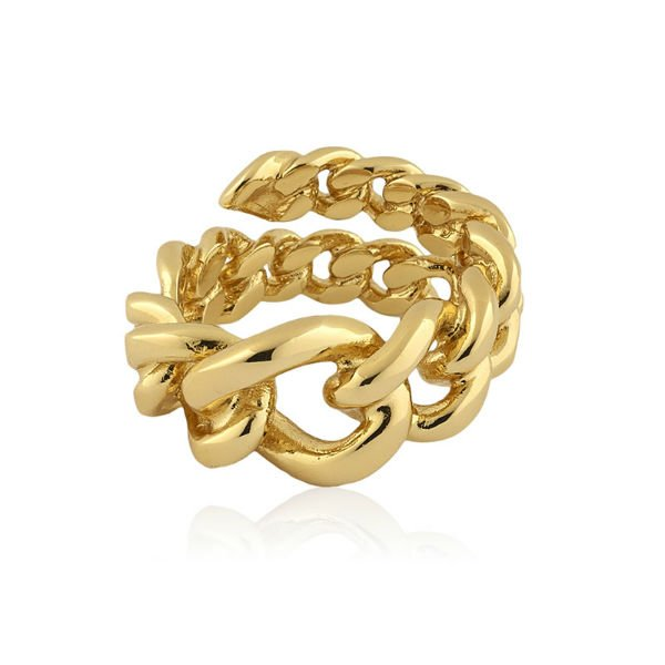 bracciale in oro a catena