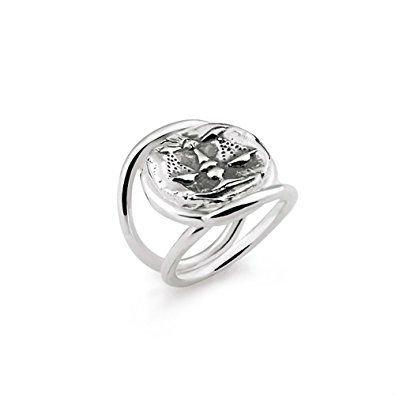 anello in argento con vele
