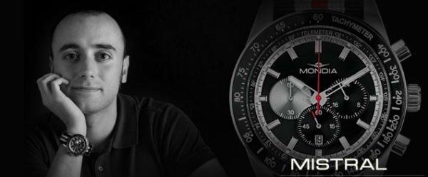 banner promozionale orologio mistral mondia italia