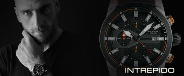 banner promozionale orologio intrepido mondia italia