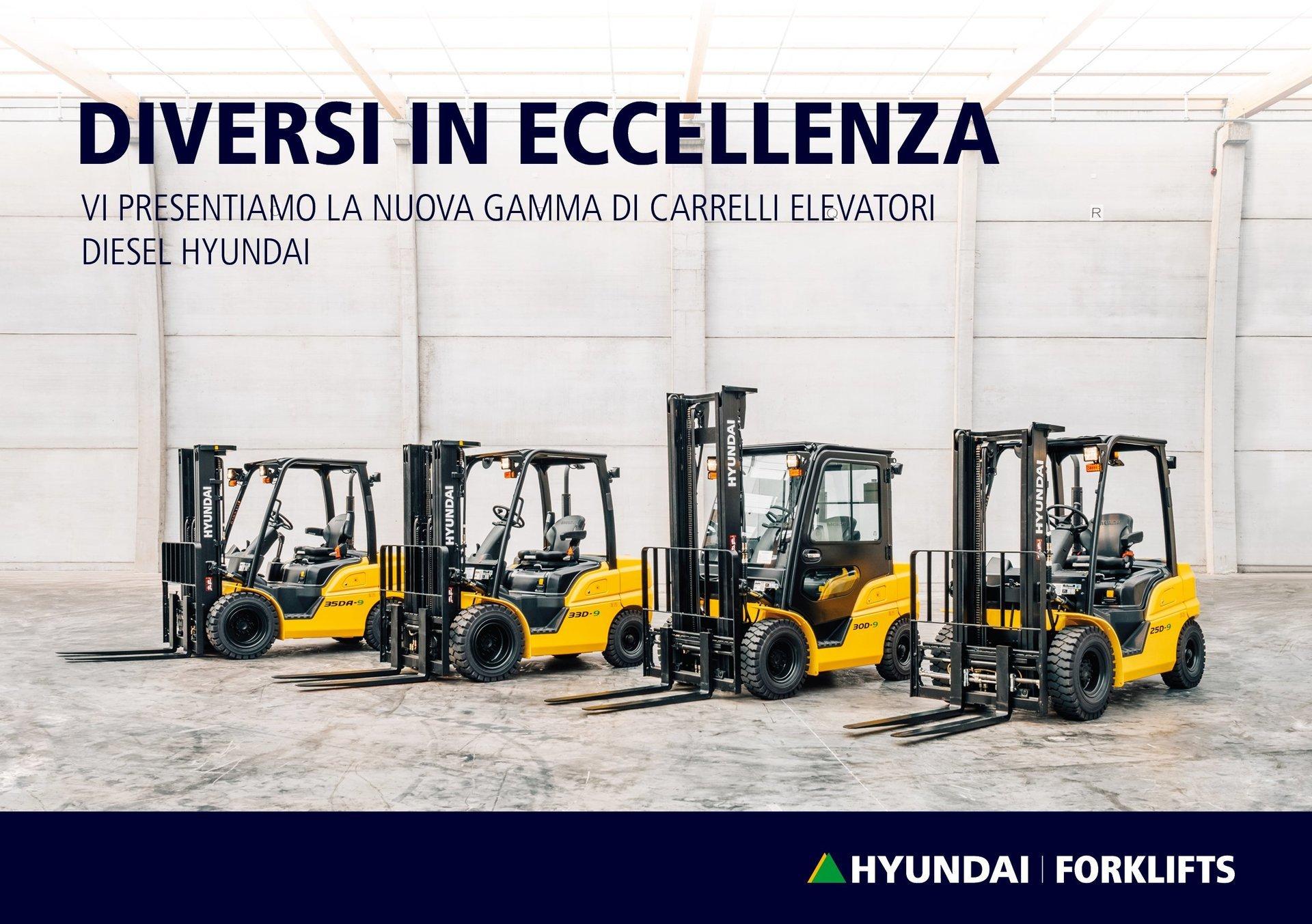carrelli elevatori diesel hyundai con prestazioni superiori