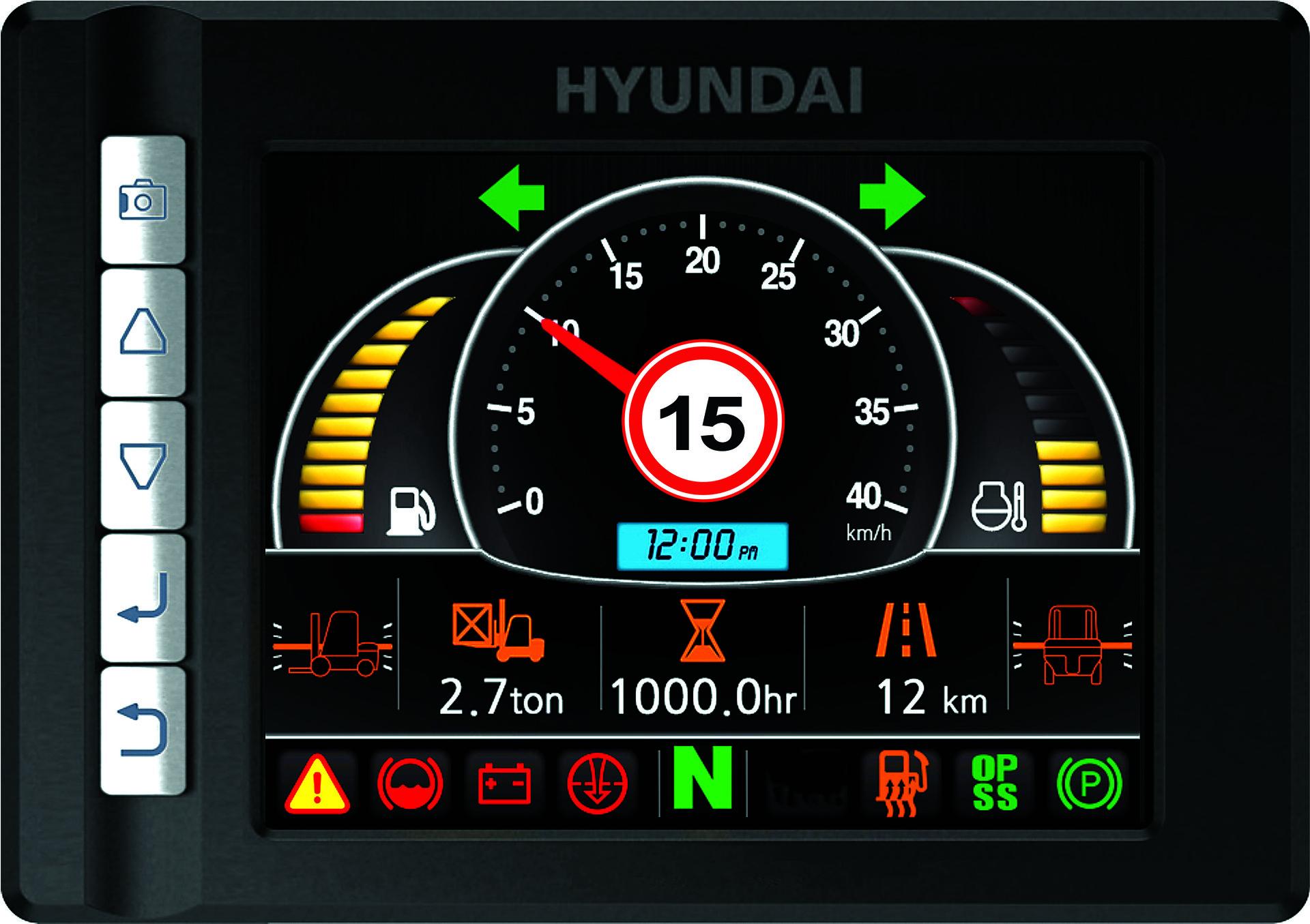 monitor carrelli diesel hyundai, computer di bordo carrelli diesel hyundai