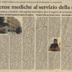 articolo giornale cheratocono rechichi