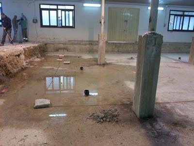 ristrutturazione impianto di una piscina