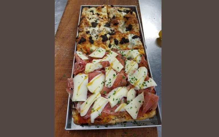 Teglia di pizza mista