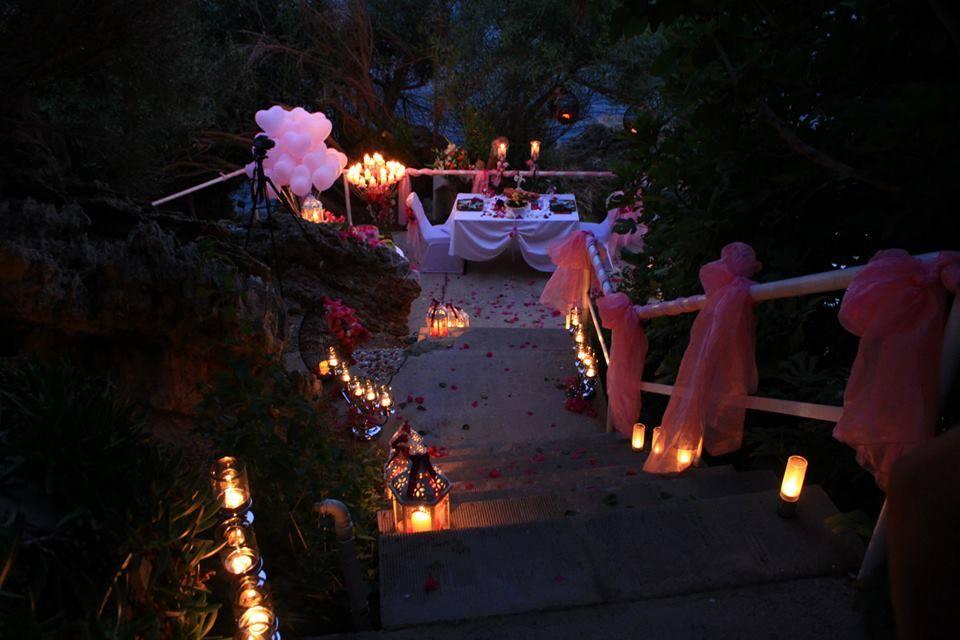 beautiful engagement decoration