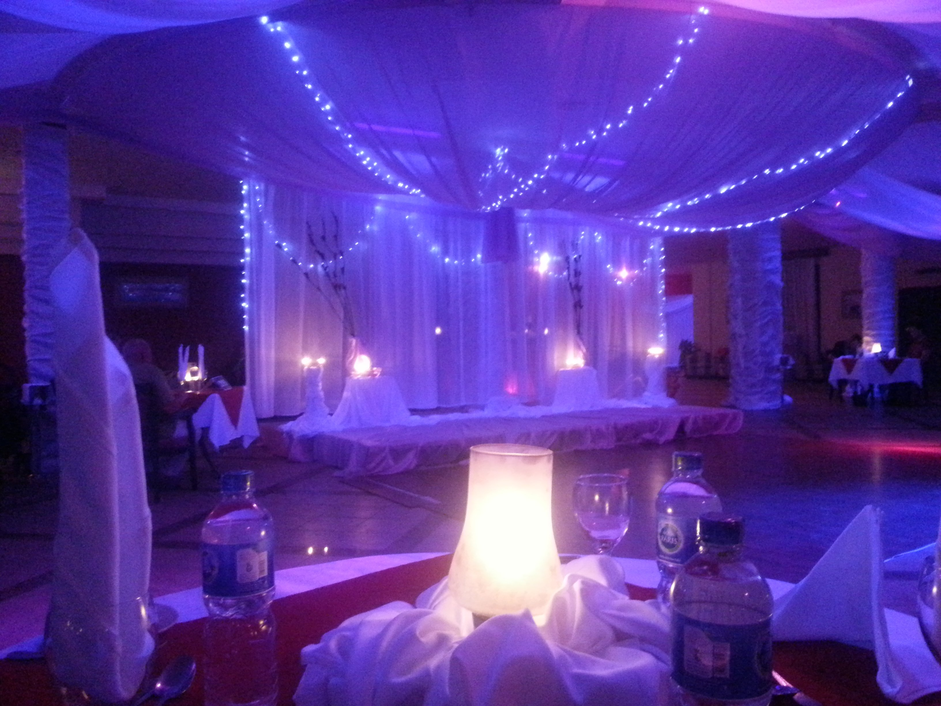beautiful wedding area interiors