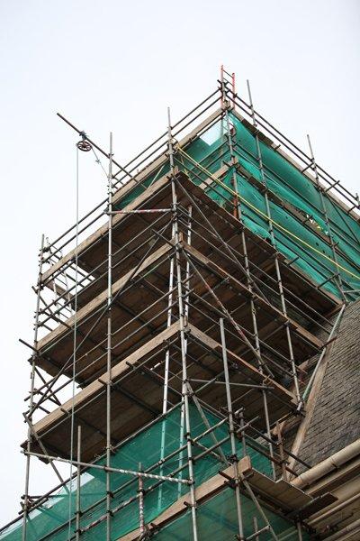 scaffolding work