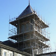 Domestic and commercial scaffolding