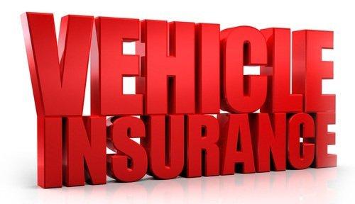 Vehilce Insurance vector graphic