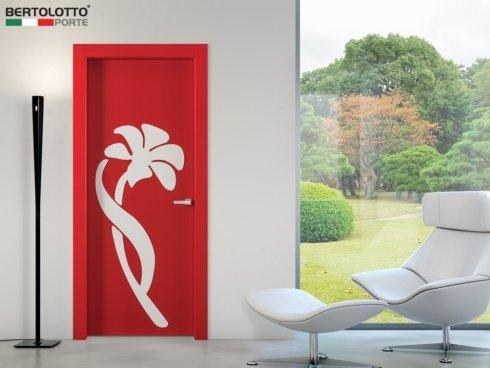 Bertolotto Porte - Natura Orchidea rosso