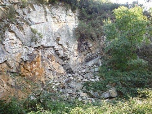 ripristino vecchi fronti di cava