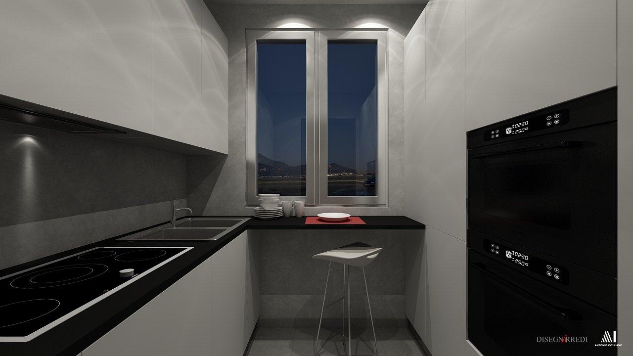 Disegnarredi Torino - Cucina compatta