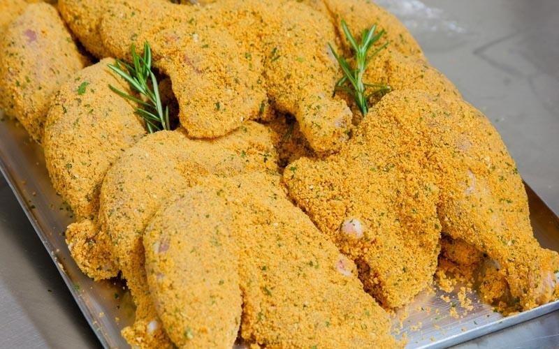 Pollo fritto e impanato