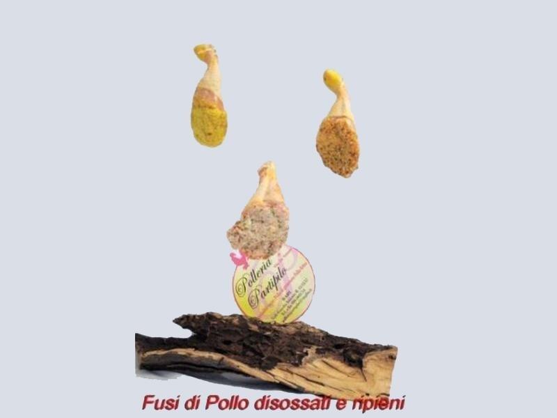 fusi di pollo disossati ripieni
