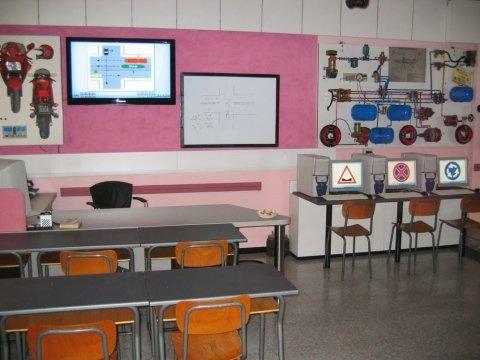 aula lezioni scuola guida