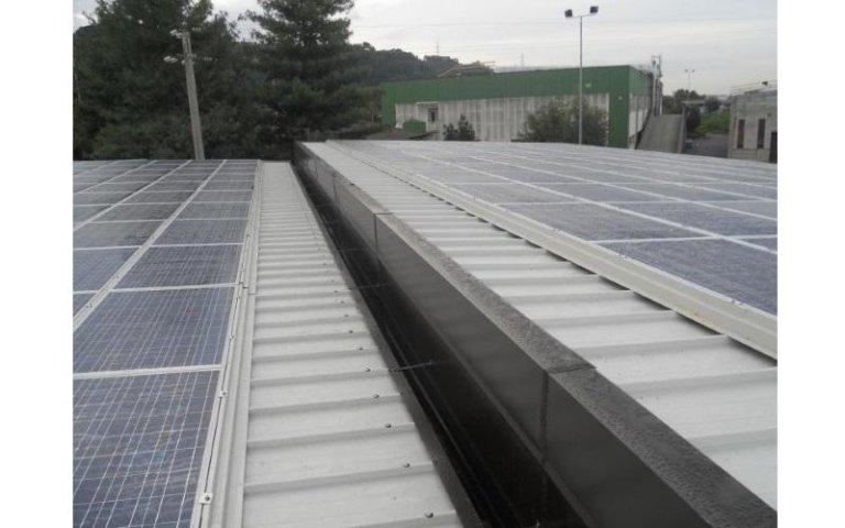 copertura fotovoltaica