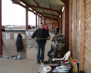 Golf shop - Peterhead, Aberdeenshire - Berryhill Driving Range - shop outside