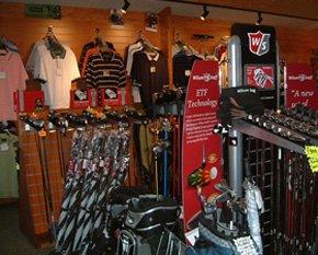 Golf shop - Peterhead, Aberdeenshire - Berryhill Driving Range - Shop