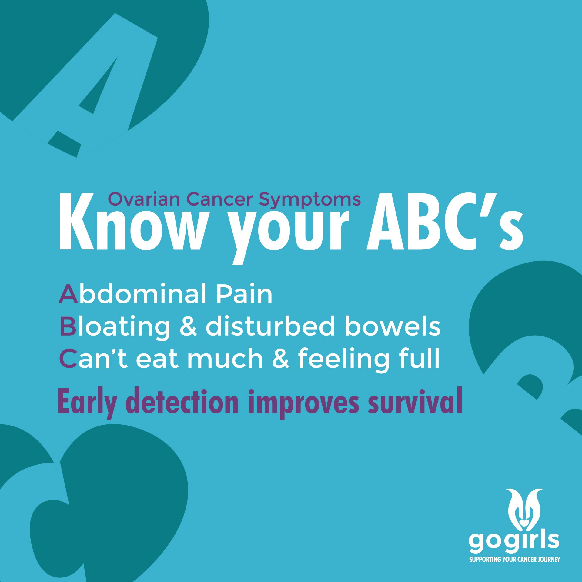 It S All Go At The Launch Of Go Girls Abc Campaign To Raise Awareness Of Ovarian Cancer