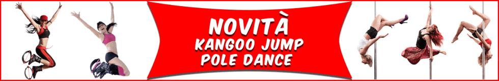 Attività di pole dance e kangoo jump