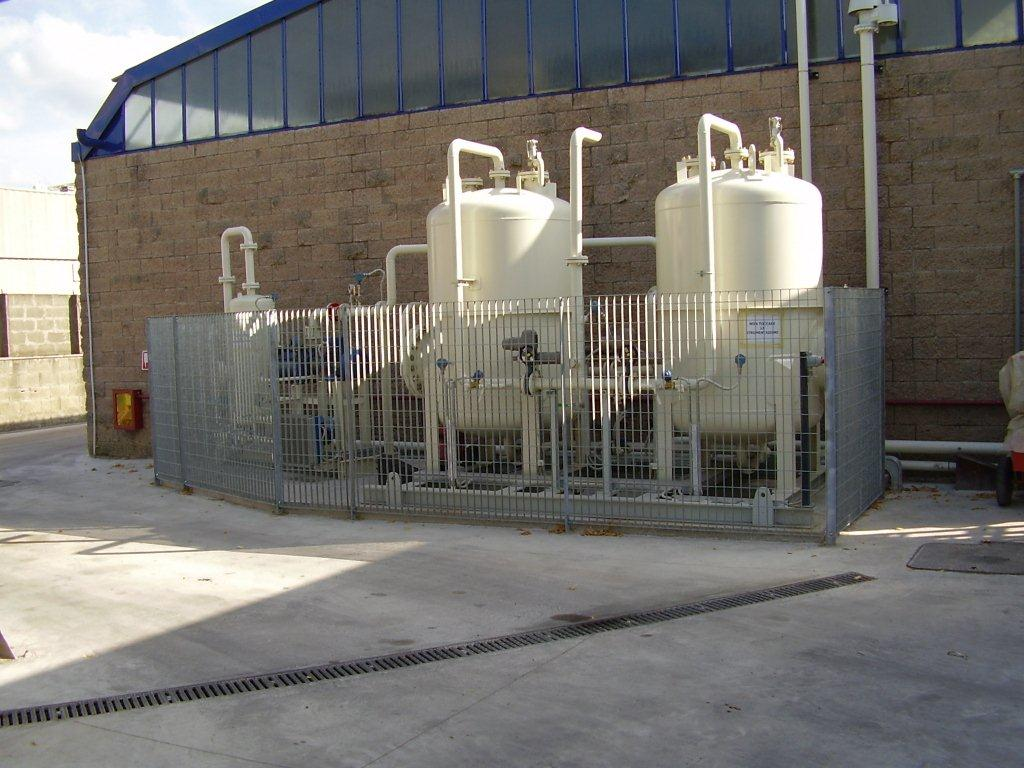 Impianto recupero vapore 1