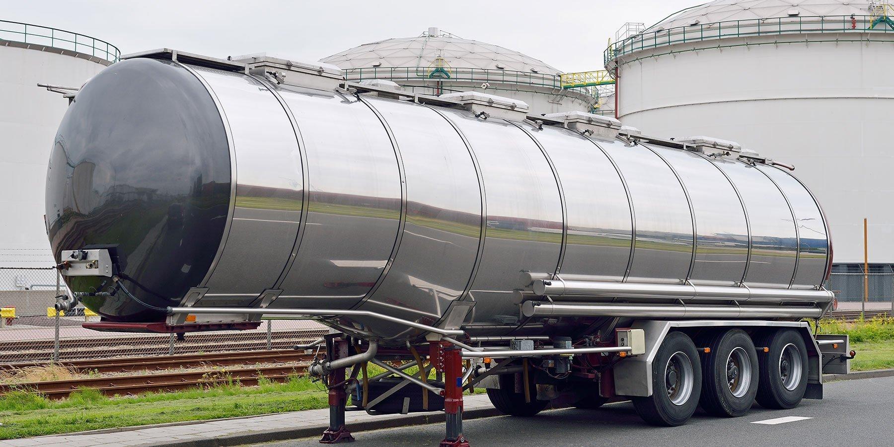 Parte per camion di trasporto fluidi
