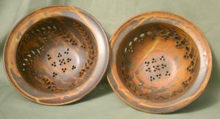Small Colander, 2 patterns