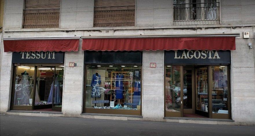 Commercio Stoffe Milano Mi Tessuti Lagosta Sas