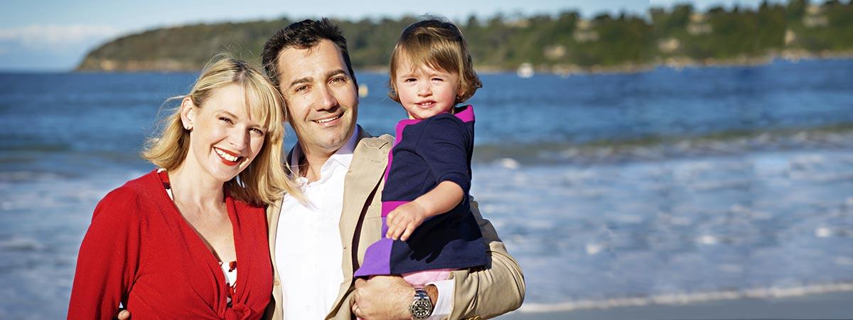 Mantello Lawyers happy family