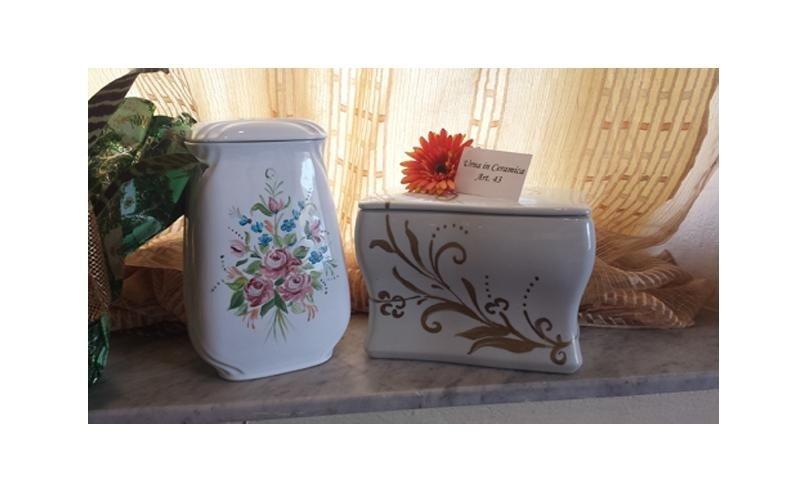 urne in ceramica cascina