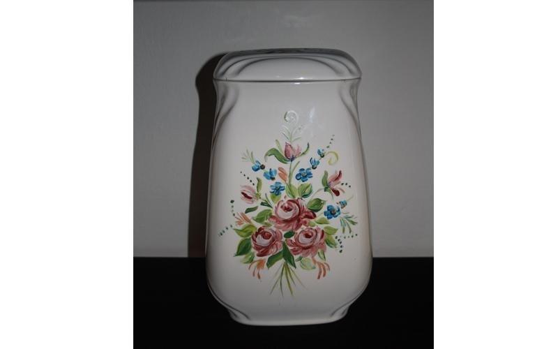 urna in ceramica decorata