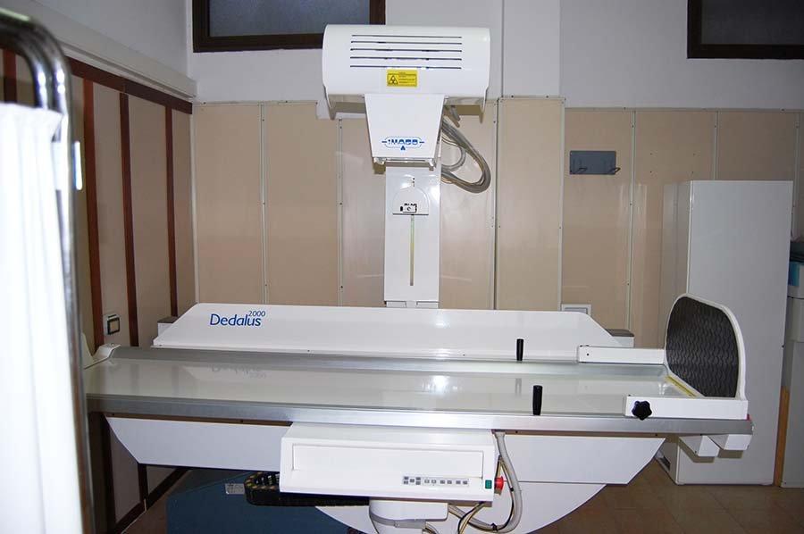 Apparecchiatura radiologica