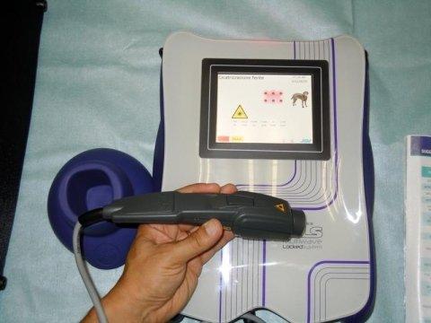 Trattamenti con laser terapeutico