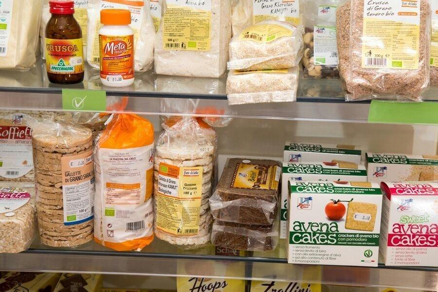 Alimenti senza glutine e per intolleranze