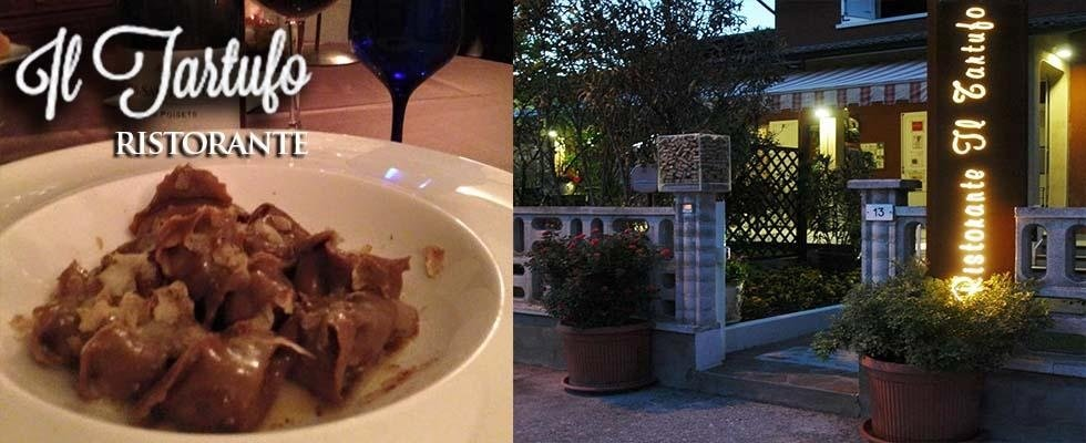 ristorante a base di tartufo