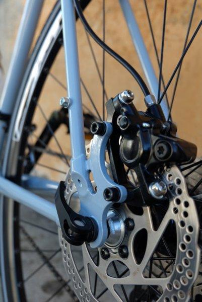 dettaglio cambio di una Bicicletta artigianale su misura